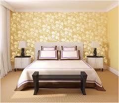 Hibiscus Flower Bedroom Wall