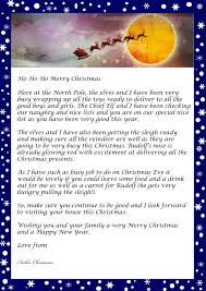 Santa Letter Template Word Choice Image Letter Examples Ideas