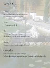 le pot d etain à chauffry carte menu et photos