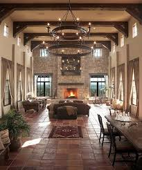 10 fascinating high ceiling living rooms with chandelier rilane