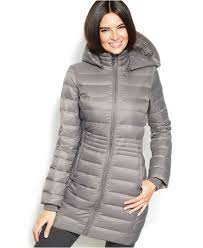 inc international concepts hooded quilted packable down puffer