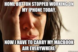 Home button stopped working on my iphone today Now I have to