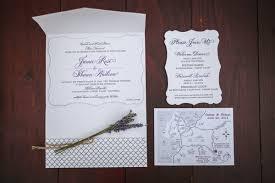 Wedding Invitation Suite With Purple Script Writing Area Map