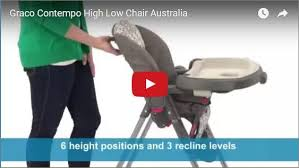 Graco Contempo High Chair Stars by Graco Contempo High Low Chair Bubs N Grubs