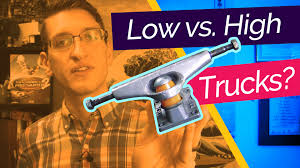 Low Vs. High Trucks - What's The Point? - Rad Rat Video