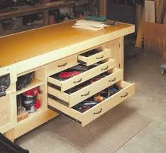 Woodworking Seminars Blog For Work Bench With Storage Decorating