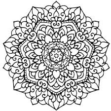Mandala Coloring Pages Glamorous For Your Free Detailed