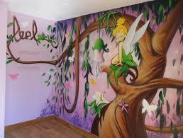 chambre fee clochette décoration chambre fille fee clochette