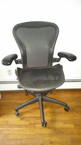 Aeron Chair Used Nyc by Herman Miller Mesh Aeron Chair Size B In Hell U0027s Kitchen New