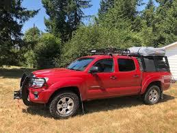 100 Canvas Truck Cap Tacoma Cage Bed Rack Gen 2