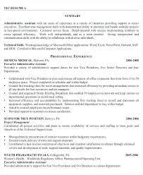 Resume Samples Administrative Assistant Sample For