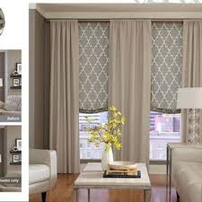 Living Room Curtain Ideas With Blinds by Best 25 Kitchen Window Treatments With Blinds Ideas On Pinterest