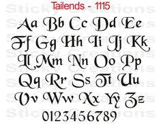 Different Letter Styles