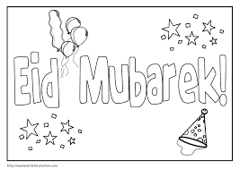Eidul Fitr Coloring Pages