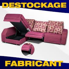 destockage canape d angle canape d angle avec coffre et assise coulissante modele seven
