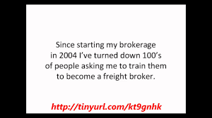 How To Make Money As A Freight Broker Or Freight Agent In 30 Days Or ...