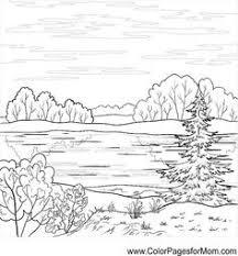 Landscape Coloring Page 60 Mais