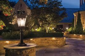the types of kichler led landscape lighting fixture home design