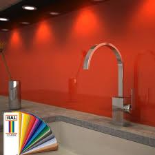 glas küchenrückwand lackiert in ral farbe nach maß badspiegel shop