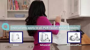 Pur Advanced Faucet Water Filter Replacement by Pur Advanced Faucet Water Filter Chrome U0026nbsp Fm 3700b Walmart Com