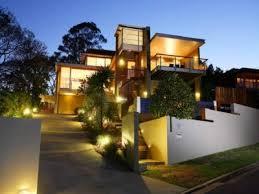 eclairage exterieur facade maison luminaire contemporaine le 7