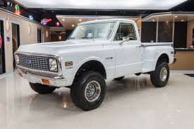 1972 Chevrolet C10 | Classic Cars For Sale Michigan: Muscle & Old ... 1972 Chevy K20 4x4 34 Ton C10 C20 Gmc Pickup Fuel Injected The Duke Is A 72 C50 Transformed Into One Bad Work Chevrolet Blazer K5 Is Vintage Truck You Need To Buy Right 4x4 Trucks Chevy Dually C30 Tow Hog Ls1tech Camaro And Febird 3 4 Big Block C10 Classic Cars For Sale Michigan Muscle Old Lifted Ford Matt S Cool Things Pinterest Types Of 1971 Custom 10 Orange 350 Motor Custom Camper Edition Pick Up For Youtube 1970 Cst Stunning Restoration Walk Around Start Scotts Hotrods 631987 Gmc Chassis Sctshotrods