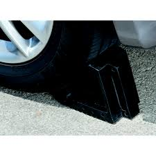 Rubber Wheel Chock - Save On This Solid Rubber Wheel Chock