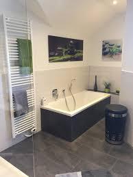 stilvolles badezimmer in klassischem schwarz weiß homify