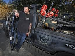 Seen This Zombie Killing Truck? The Story Behind A Dallas Artist's ...