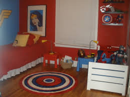 Superhero Bedroom Decorating Ideas by Super Hero Shared Room Making It Work For Boy And Finally
