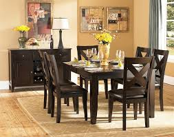 Contemporary Design Casual Dining Table And Chairs West Point 7 Pc Tables