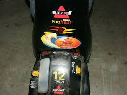 won t spray solution rollers spin fixing bissell proheat carpet