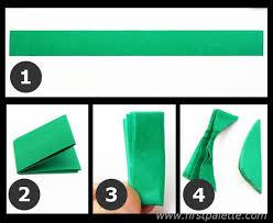 Step 7a 3D Paper Tree Craft
