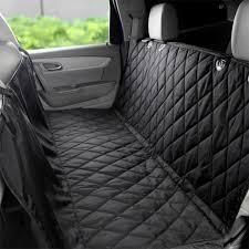 siege de transport housse de siège de voiture de chien étanche noir achat vente