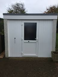100 Double Garage Conversion Converting A Single Garage Door Opening With A Upvc Double