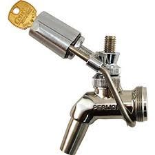 amazon com perlick wrap around draft beer faucet lock beer keg