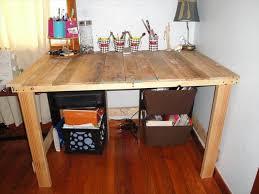 DIY Desk Made From Pallets Tutorial