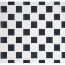 black white vinyl tile floor dollhouse tile flooring