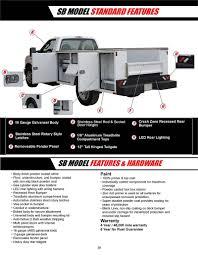 CM Service Body, SB Model, Chevrolet/Ford/Dodge 8'6