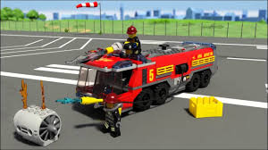 LEGO City - Airport Fire Truck - YouTube
