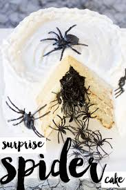 Halloween Scary Pranks 2015 by Halloween Spider Cake Diy Tutorial U0026 Recipe