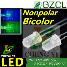 aliexpress buy ultra brightness 2 pin bicolor led diode