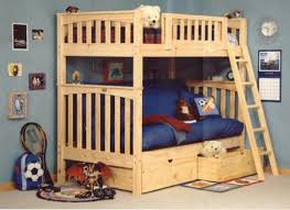 twin over futon bunk bed wood modern storage twin bed design