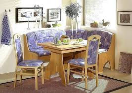 Booth Dining Room Sets Style Table Breakfast With Storage Corner Kitchen Set
