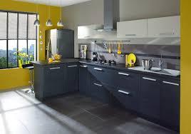 cuisines grises aménagement cuisine gris