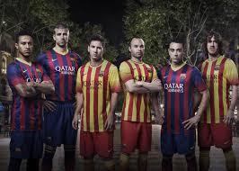 fc barcelone nouveaux maillots 2013 2014 nike domicile et