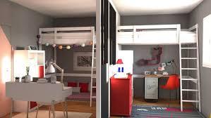 stunning separer une grande chambre en deux images odieardhia astuce