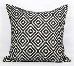 Black Throw Pillows 18x18 Boho Pillow Case Bed Black Pillow Covers