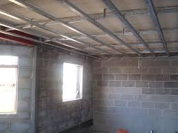 Hanging Drywall On Ceiling Joists by Metal Furring Buildipedia