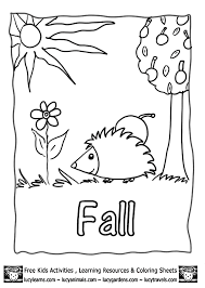 Free Fall Coloring PagesLucys Printable Pages